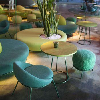 Detalle mesa lounge - NuBel
