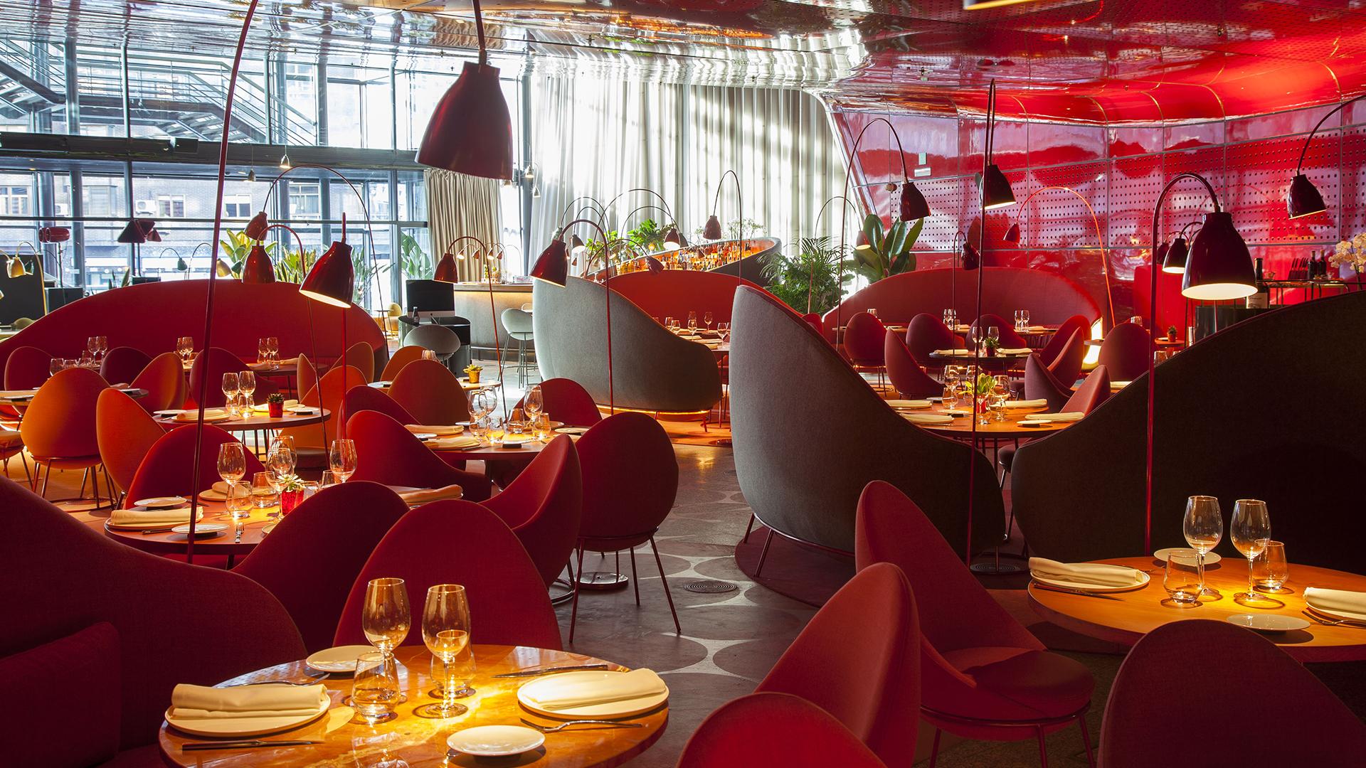 Nubel Restaurante Museo Reina Sofía En Madrid