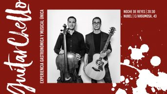GuitarChello: cena y música en directo la noche de reyes