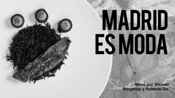 MENÚ ESPECIAL MADRID ES MODA: La caja negra by Roberto Diz y Manuel Berganz